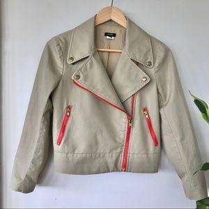 J. Crew moto jacket
